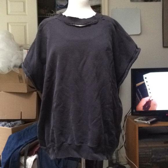 Levi's Other - Levi's Men's Distressed Short-Sleeved Sweatshirt